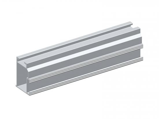 Solar panel roof mounting aluminum profile