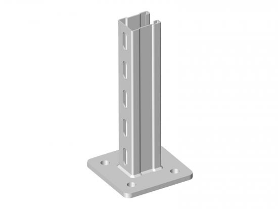 C channel steel post mounting C52
